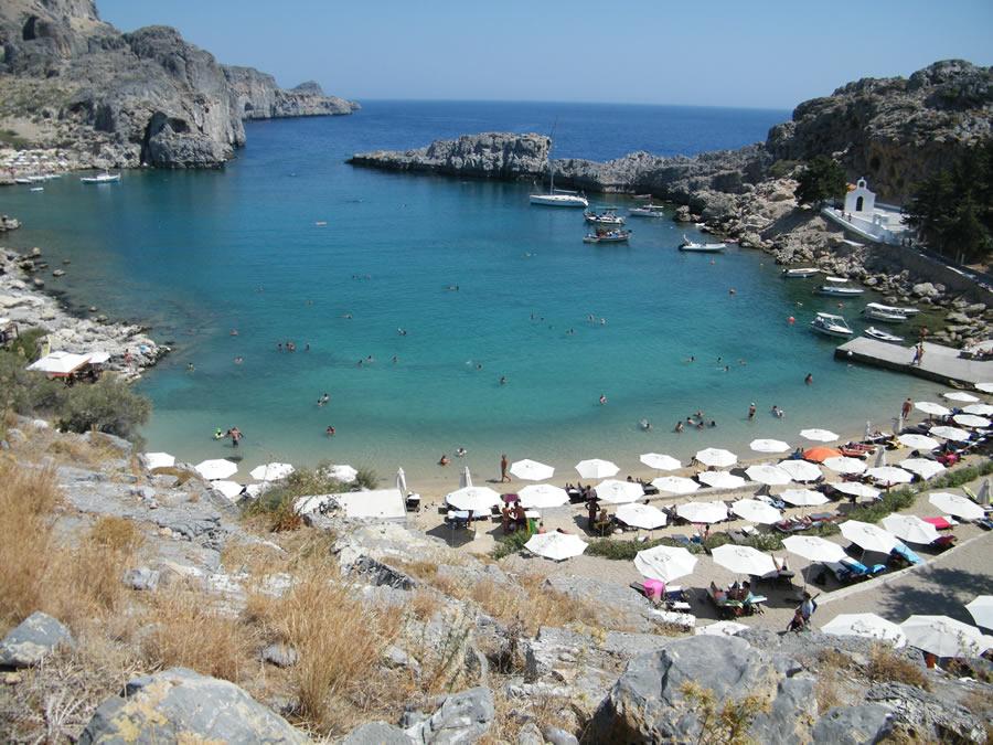 Lindos Sun Hotel In Rhodes Lindos Village Greece