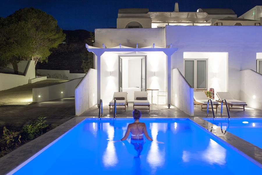 Car Sun Shade >> Lindos Sun Hotel in Rhodes, Lindos village, Greece